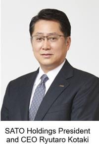 SATO Holdings CEO Ryutaro Kotaki