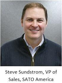 SATO America Vice President of Sales Stephen Sundstrom